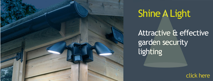 garden security lighting