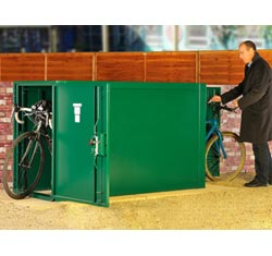 Asgard Bike Locker: 2 Bikes from Gardien | garden security